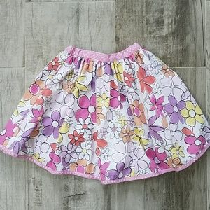 Mini Boden Floral Summer Skirt